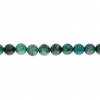 African Turquoise 4mm Round 46pcs Approx